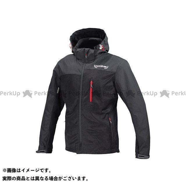 KOMINE カジュアルウェア JK-114 プロテクトメッシュパーカ-テン カラー:ブラック サイズ:3XL コミネ