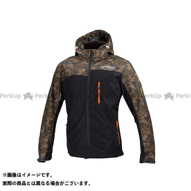 KOMINE カジュアルウェア JK-114 プロテクトメッシュパーカ-テン カラー:カモ/ブラック サイズ:3XL コミネ