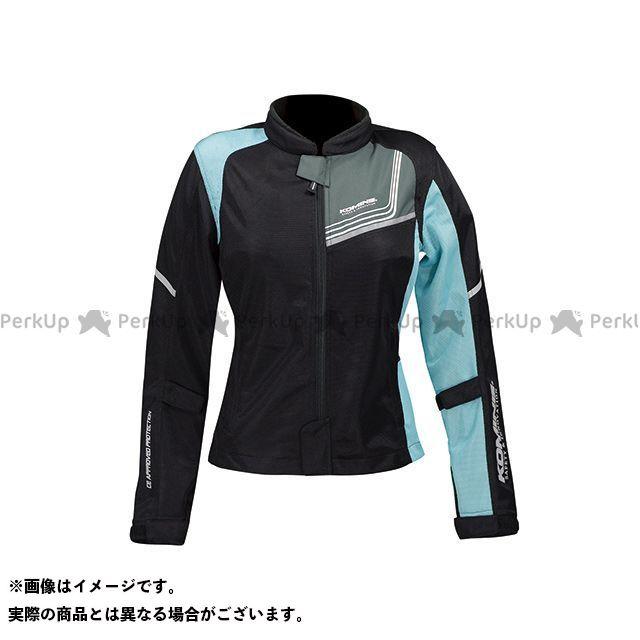 KOMINE ジャケット JK-117 プロテクトフルメッシュジャケット-ジモン カラー:ブラック/ライトブルー サイズ:WL コミネ
