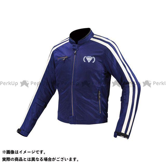KOMINE ジャケット JK-119 フルメッシュジャケット-シン カラー:ネイビー サイズ:2XL コミネ