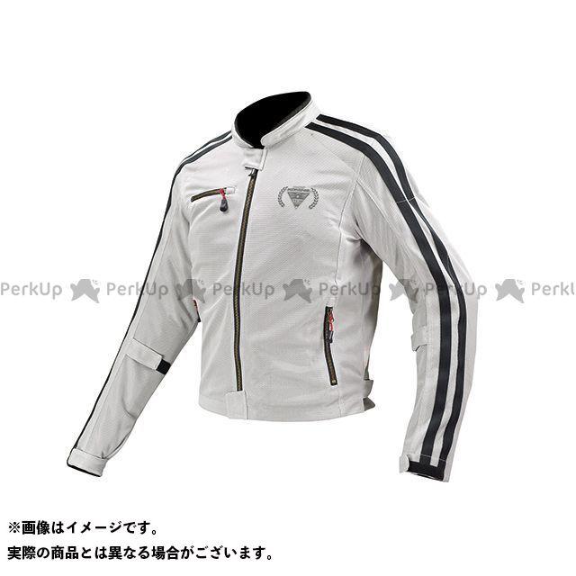KOMINE ジャケット JK-119 フルメッシュジャケット-シン カラー:シルバー サイズ:2XL コミネ