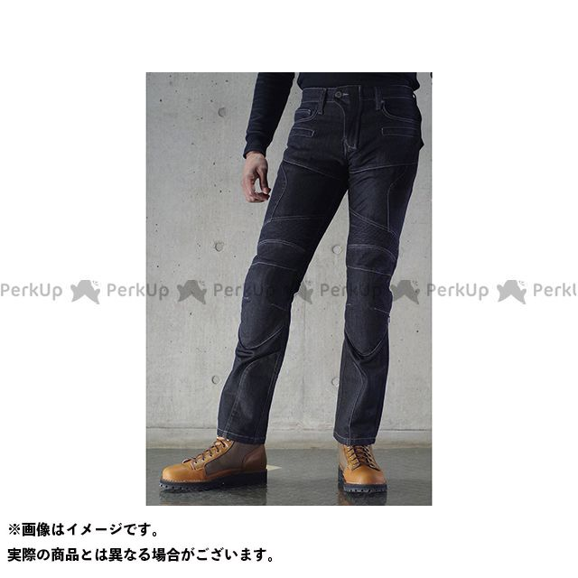 KOMINE パンツ WJ-739S スーパーフィット プロテクトメッシュジーンズ カラー:ブラック サイズ:WM/28 コミネ