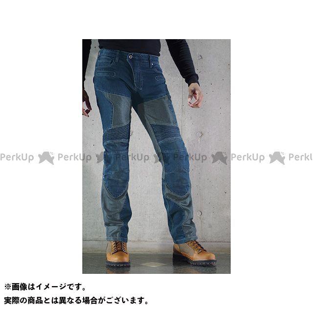 送料無料 コミネ KOMINE パンツ WJ-739S スーパーフィット プロテクトメッシュジーンズ インディゴブルー XL/34