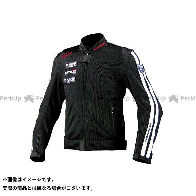 KOMINE ジャケット JK-014 ライディングメッシュジャケット レジェンド カラー:ブラック サイズ:2XL コミネ