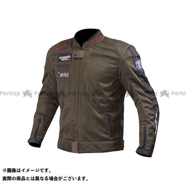 KOMINE ジャケット JK-014 ライディングメッシュジャケット レジェンド カラー:オリーブ サイズ:XL コミネ