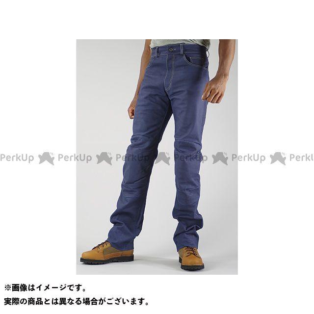 KOMINE パンツ PK-631 プレミアムレザージーンズ カラー:インディゴブルー サイズ:L コミネ