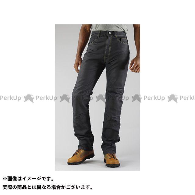 KOMINE パンツ PK-632 プレミアムベントレザージーンズ カラー:ブラック サイズ:WL コミネ