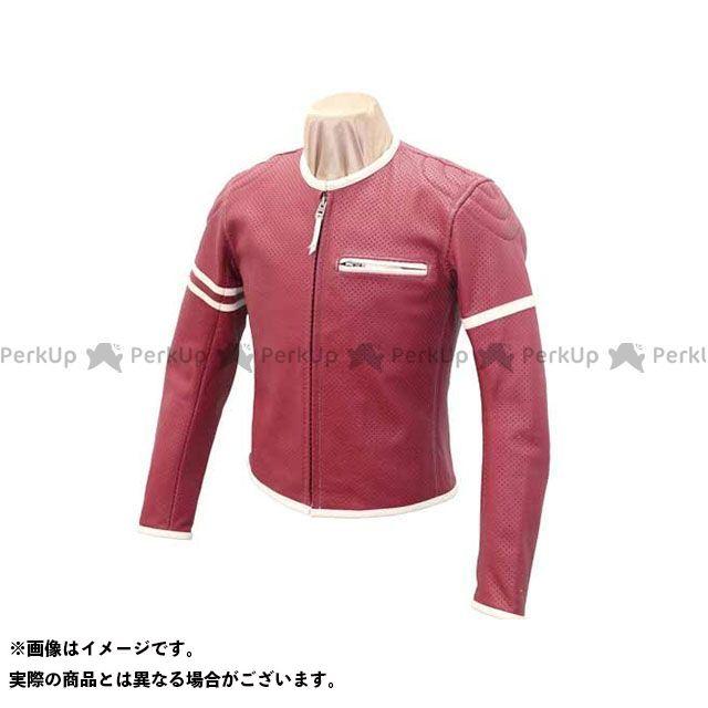 カドヤ ジャケット K'S LEATHER No.1177 PL-SP レザージャケット カラー:ワイン/アイボリー サイズ:3L KADOYA
