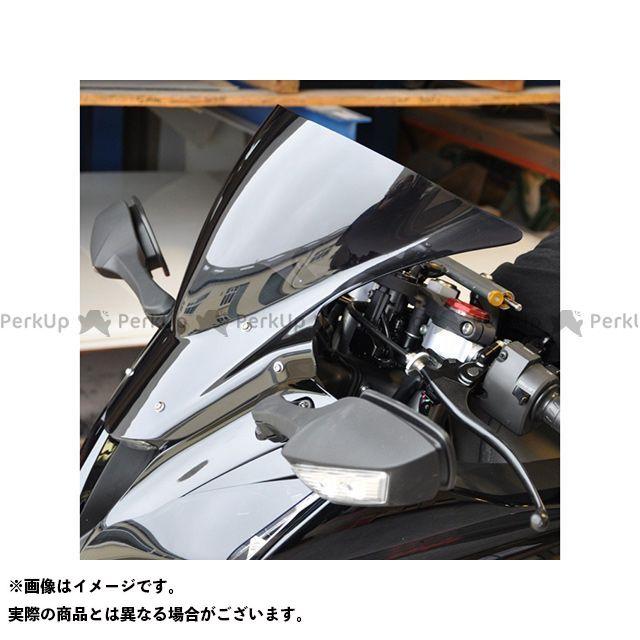 【エントリーで更にP5倍】Skidmarx ニンジャZX-10R スクリーン関連パーツ ウィンドスクリーン ダブルバブルタイプ カラー:ダークブロンズ スキッドマークス