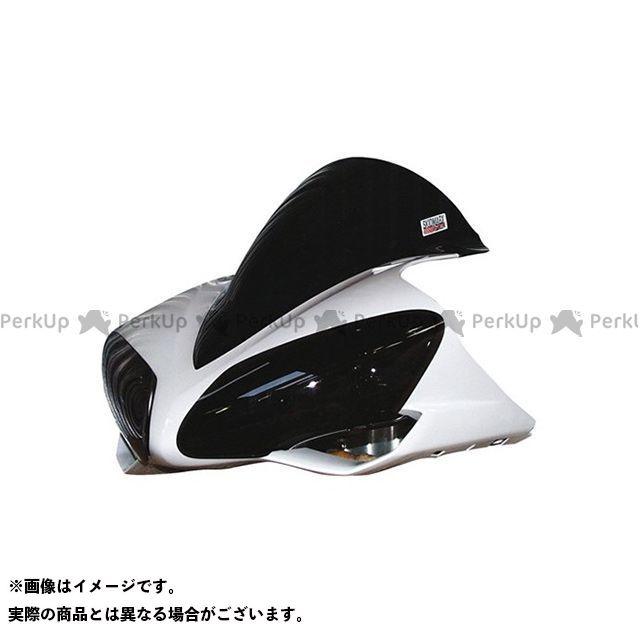 【エントリーで更にP5倍】Skidmarx YZF-R1 スクリーン関連パーツ ウィンドスクリーン ダブルバブルタイプ カラー:ブラック スキッドマークス