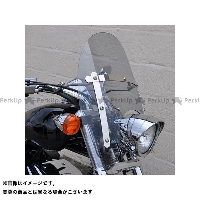 【エントリーで更にP5倍】Skidmarx VT1300CX スクリーン関連パーツ カスタム クルーザー ウィンドスクリーン カラー:クリア スキッドマークス