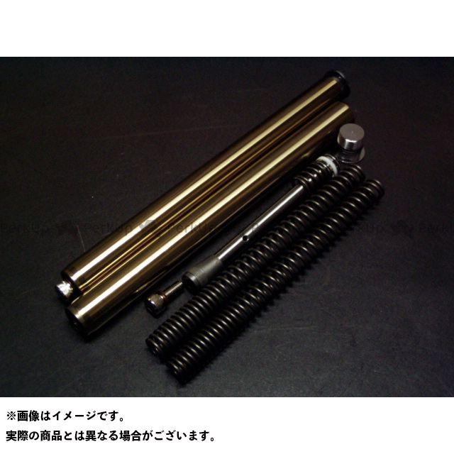 BMOON アドレスV125 フロントフォーク関連パーツ インナーチューブセット/ゴールドタイプ/アドレスV125/K7~ Bムーンファクトリー