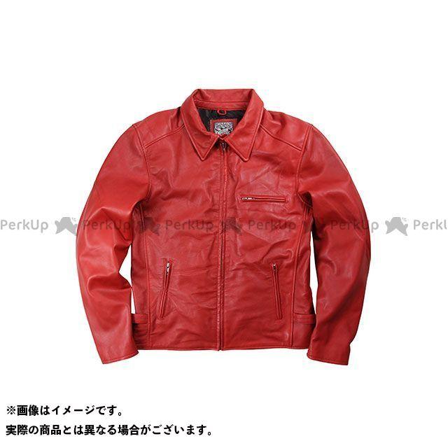 デグナー ジャケット 17SJ-1 レザージャケット カラー:レッド サイズ:XL DEGNER