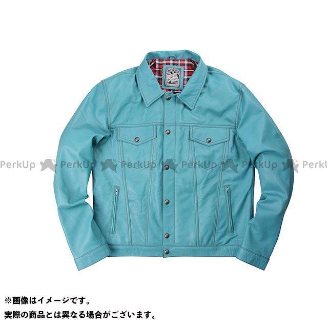 デグナー ジャケット 【特価品】 17SJ-5 レザージャケット カラー:ターコイズ サイズ:XL DEGNER
