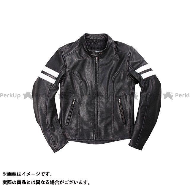 デグナー ジャケット DG17SJ-3 レディースメッシュレザージャケット(ブラック) サイズ:レディースL DEGNER