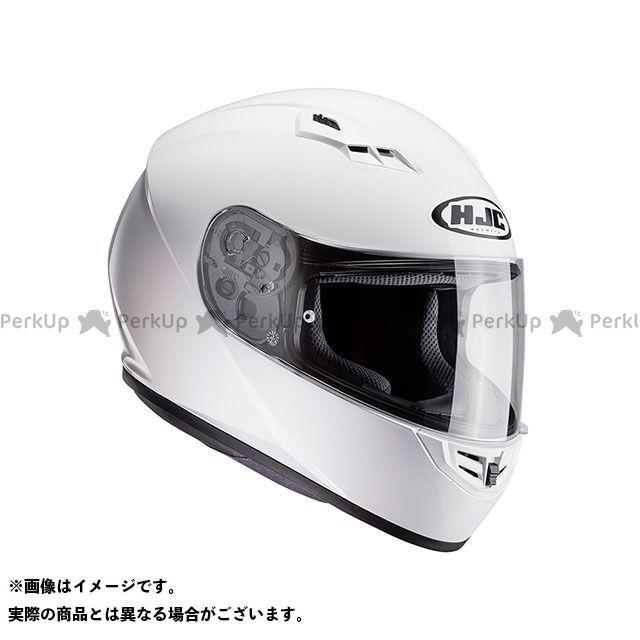 送料無料 HJC エイチジェイシー フルフェイスヘルメット HJH113 CS-15 ソリッド ホワイト S/55-56cm
