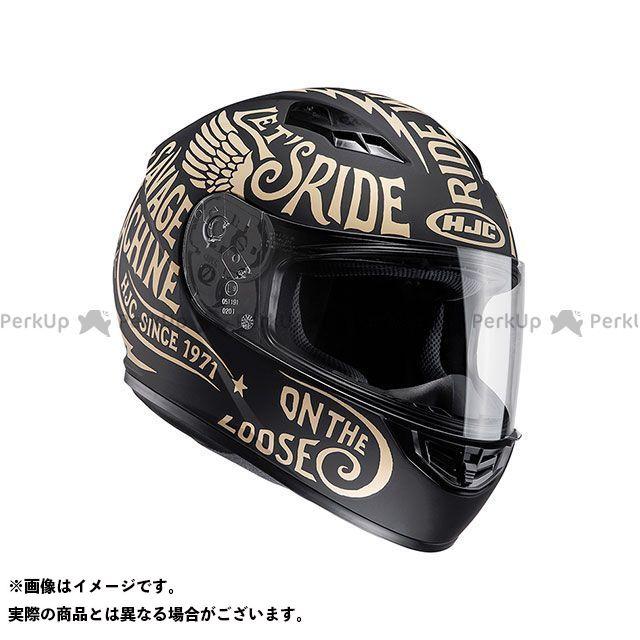 送料無料 HJC エイチジェイシー フルフェイスヘルメット HJH117 CS-15 レブル ゴールド M/57-58cm