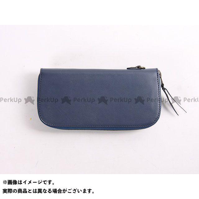 デグナー 財布 【特価品】 W-92 レザージップウォレット カラー:ネイビー DEGNER