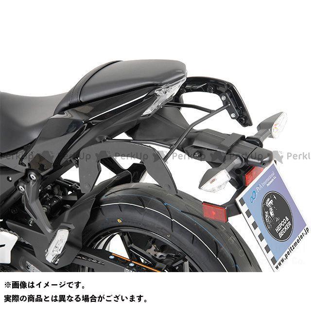 HEPCO&BECKER ニンジャ650 Z650 キャリア・サポート サイドソフトケースホルダー(キャリア)「C-Bow」(ブラック) ヘプコアンドベッカー