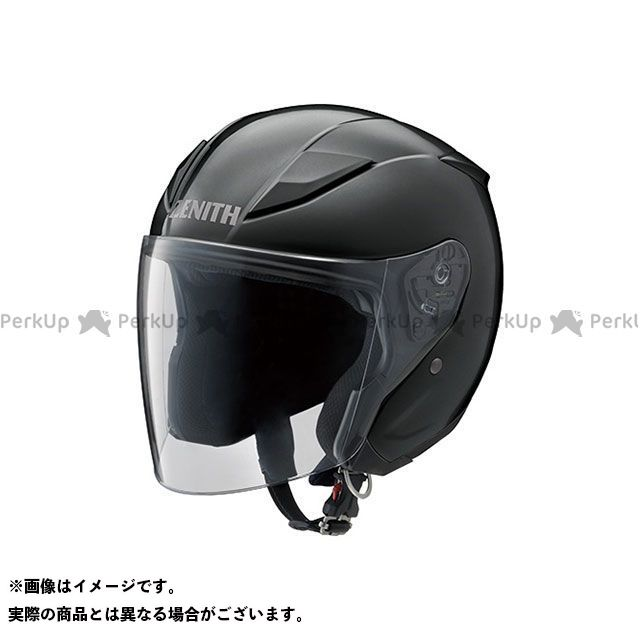 Y'S GEAR ジェットヘルメット YJ-20 ZENITH カラー:メタルブラック サイズ:S/55-56cm ワイズギア