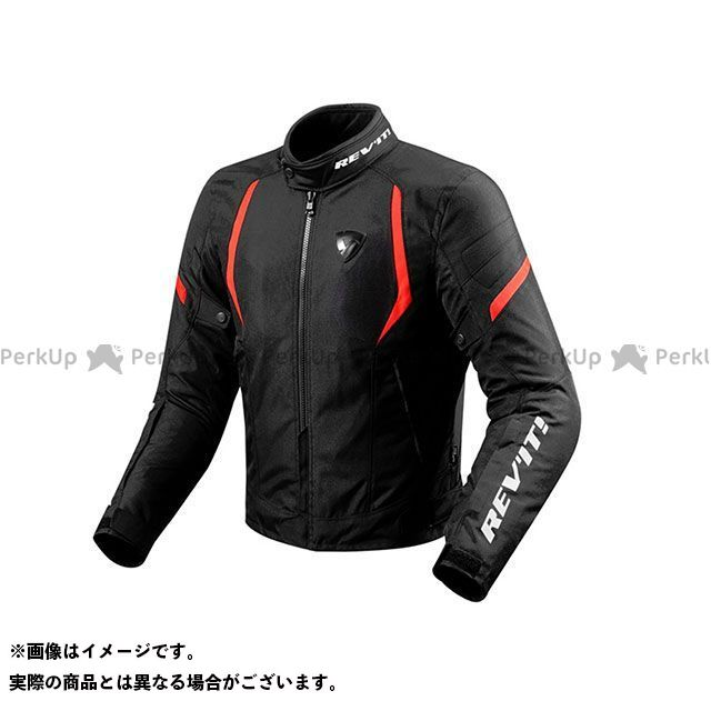 レブイット ジャケット FJT219 ジュピター2 テキスタイルジャケット カラー:ブラック/レッド サイズ:XXL REVIT