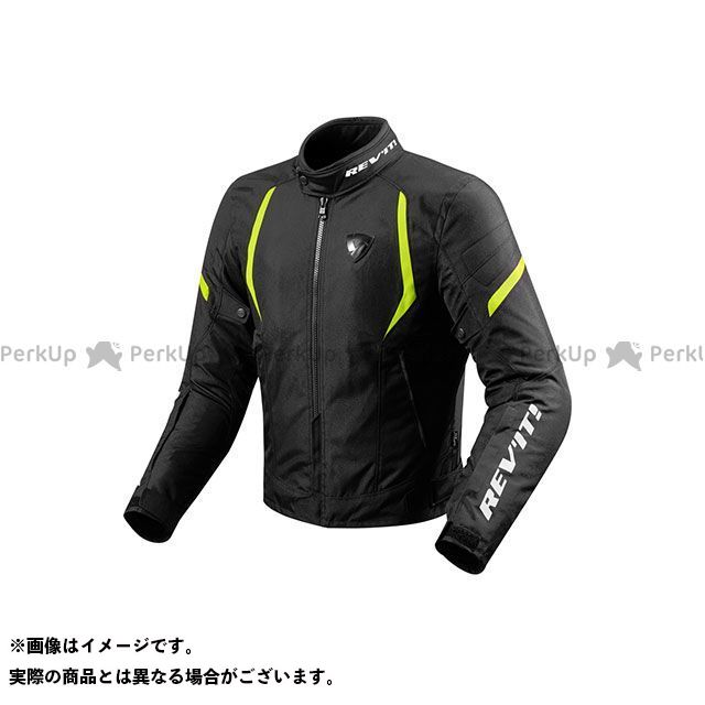 レブイット ジャケット FJT219 ジュピター2 テキスタイルジャケット カラー:ブラック/ネオンイエロー サイズ:S REVIT