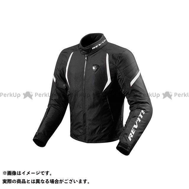 レブイット ジャケット FJT219 ジュピター2 テキスタイルジャケット カラー:ブラック/ホワイト サイズ:S REVIT