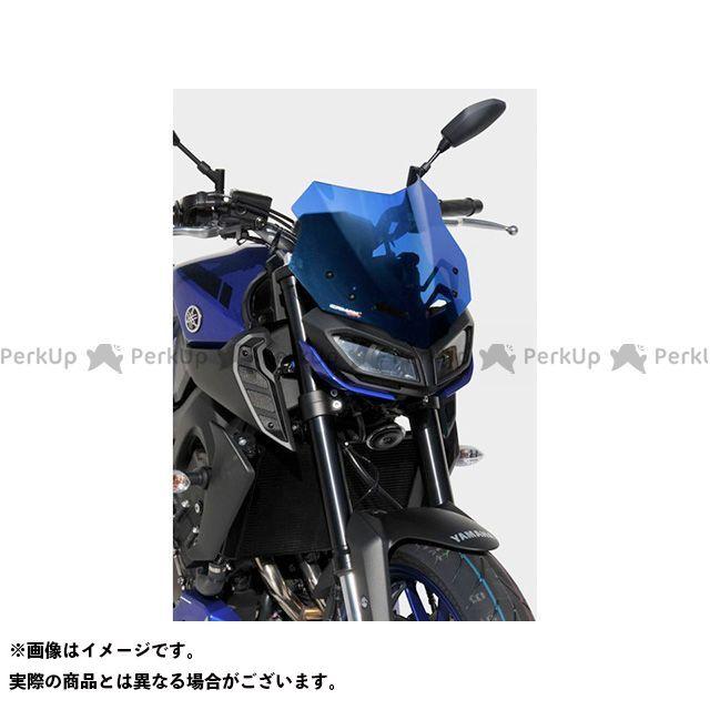 【エントリーで更にP5倍】ERMAX MT-09 スクリーン関連パーツ スクリーン Bulles(スタンダードタイプ) SPORT カラー:グレークリアー アルマックス