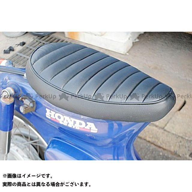 ブヒンヤケーアンドダブリュー スーパーカブ50 シート関連パーツ カブ用 シート タイプ:タックロール カラー:黒 部品屋K&W