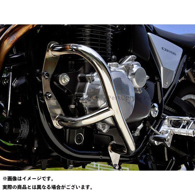 送料無料 OVER RACING CB1100 CB1100EX CB1100RS エンジンガード エンジンガード(ステンレス)