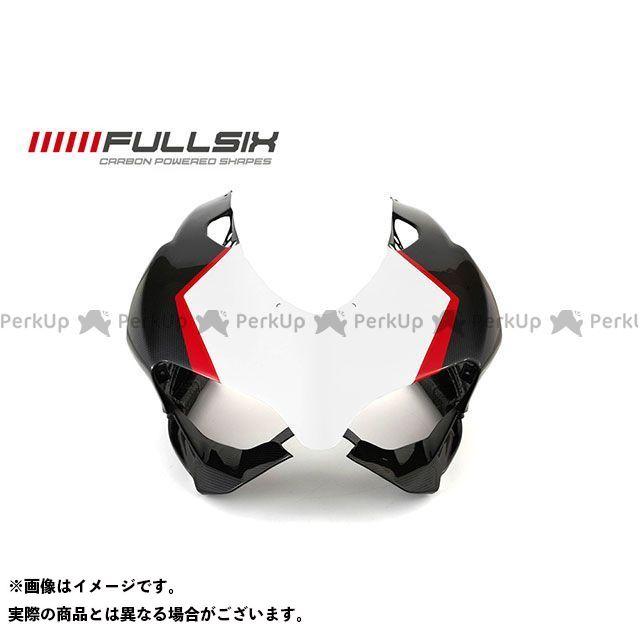 FULLSIX 1199パニガーレ カウル・エアロ 1199 アッパーカウル レッド コーティング:マットコート カーボン繊維の種類:245Twill 綾織り フルシックス