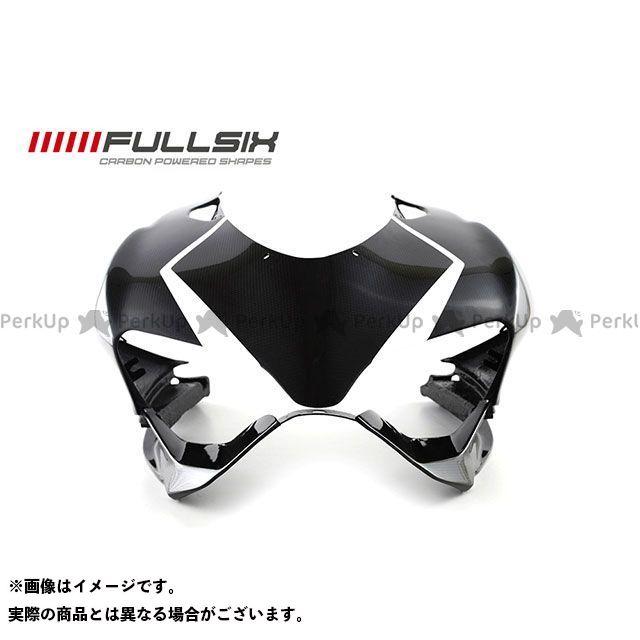 FULLSIX 1199パニガーレ カウル・エアロ 1199 アッパーカウル ホワイト コーティング:クリアコート カーボン繊維の種類:200Plain 平織り フルシックス