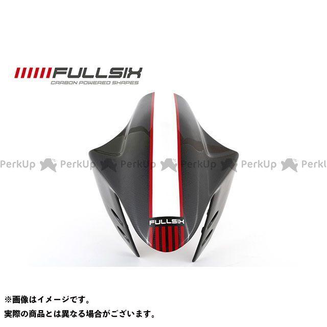 FULLSIX 1199パニガーレ フェンダー 1199 フロントフェンダー レッド コーティング:クリアコート カーボン繊維の種類:200Plain 平織り フルシックス
