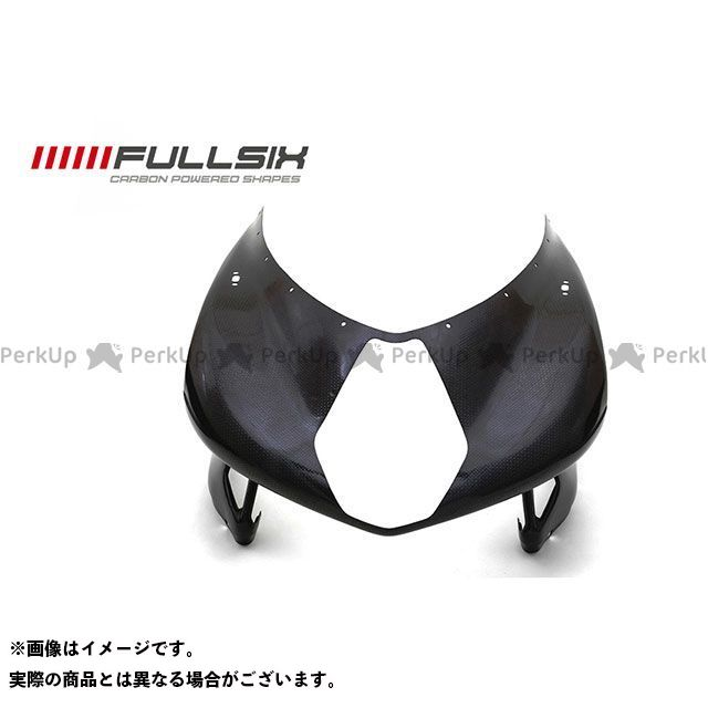 FULLSIX F4 カウル・エアロ F4 アッパーカウル コーティング:クリアコート カーボン繊維の種類:245Twill 綾織り フルシックス