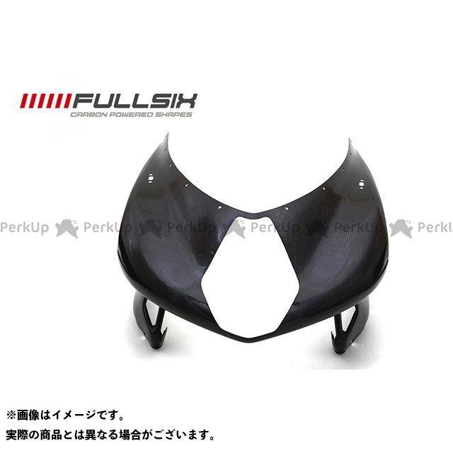 FULLSIX F4 カウル・エアロ F4 アッパーカウル コーティング:クリアコート カーボン繊維の種類:200Plain 平織り フルシックス