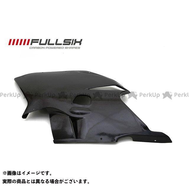 FULLSIX F4 カウル・エアロ F4 カウルサイドパネル(左) コーティング:クリアコート カーボン繊維の種類:245Twill 綾織り フルシックス