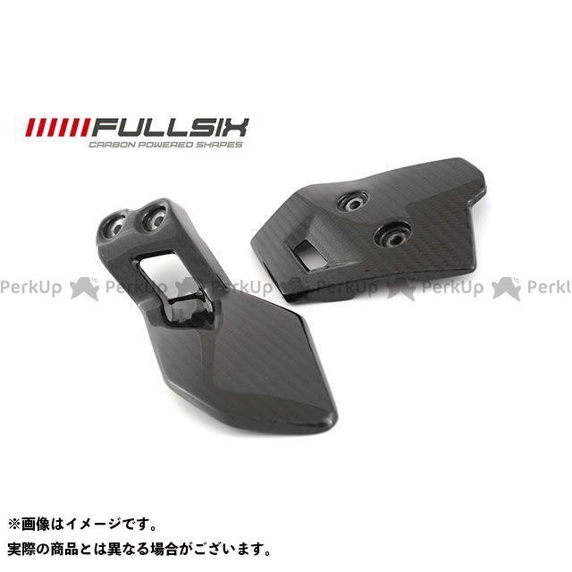 FULLSIX F800GS マフラーカバー・ヒートガード F800GS ヒールガードセット コーティング:クリアコート カーボン繊維の種類:245Twill 綾織り フルシックス