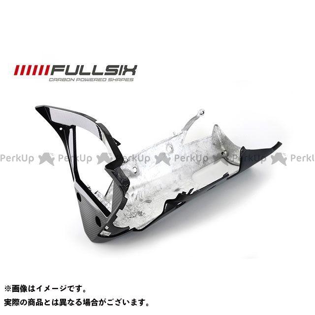 FULLSIX YZF-R1 カウル・エアロ R1 15 アンダーカウル ホールあり 純正 コーティング:クリアコート カーボン繊維の種類:245Twill 綾織り フルシックス