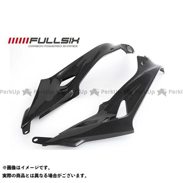 FULLSIX S1000R カウル・エアロ S1000RR タンクサイドパネルセット コーティング:クリアコート カーボン繊維の種類:200Plain 平織り フルシックス