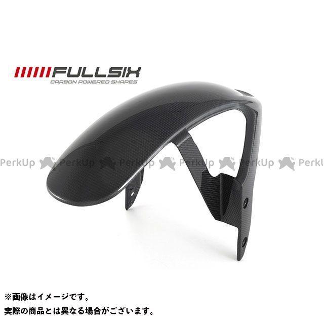 FULLSIX フェンダー スクランブラー フロントフェンダー コーティング:クリアコート カーボン繊維の種類:245Twill 綾織り フルシックス