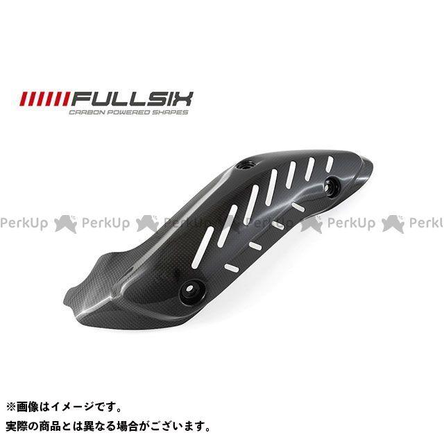 FULLSIX モンスター1200 モンスター821 マフラーカバー・ヒートガード モンスター1200 エキゾーストプロテクター クリアコート 245Twill 綾織り フルシックス