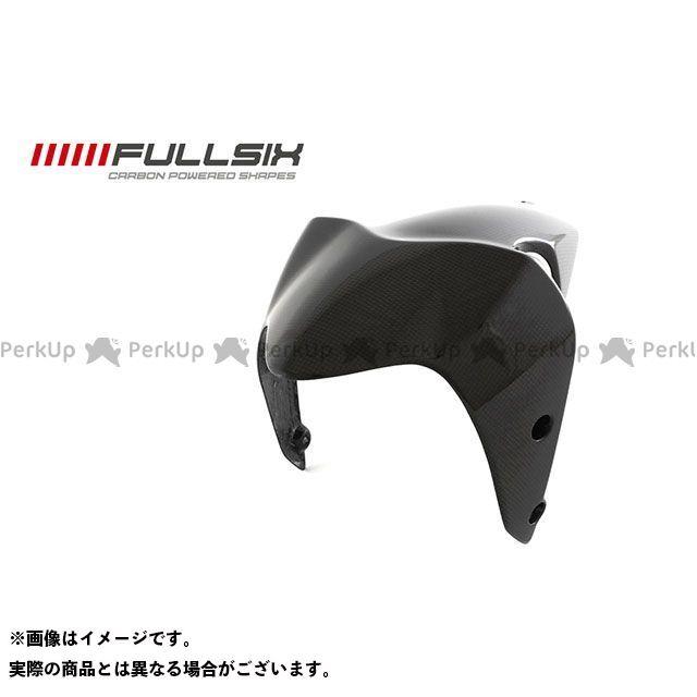 FULLSIX モンスター1200 モンスター821 フェンダー モンスター1200 フロントフェンダー コーティング:マットコート カーボン繊維の種類:200Plain 平織り フルシックス