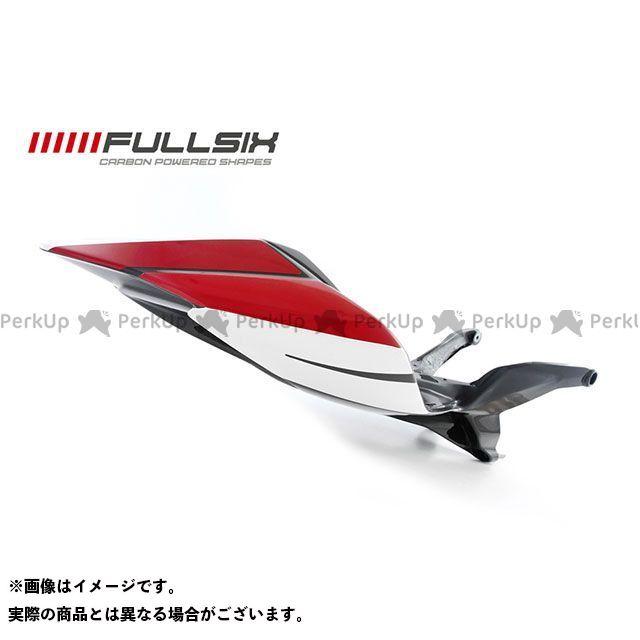 FULLSIX 1199パニガーレ カウル・エアロ 1199 シートレール一体カウル レッド(レース) コーティング:クリアコート カーボン繊維の種類:245Twill 綾織り フルシックス