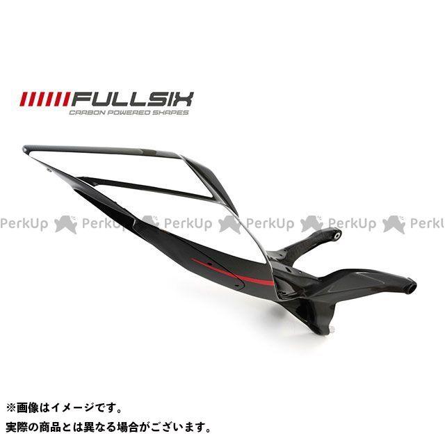 FULLSIX 1199パニガーレ カウル・エアロ 1199 シートレール一体カウル ホワイト(レース) コーティング:マットコート カーボン繊維の種類:245Twill 綾織り フルシックス