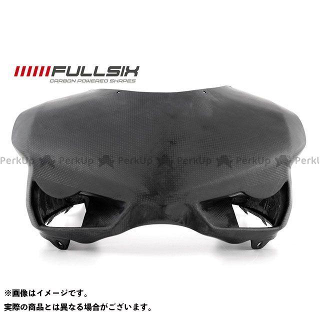 FULLSIX 1098 1198 848 カウル・エアロ 848 アッパーカウル オーバーサイズ(レース) コーティング:クリアコート カーボン繊維の種類:200Plain 平織り フルシックス