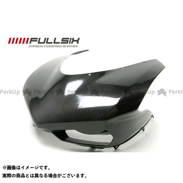 FULLSIX 1098 1198 848 カウル・エアロ 848 アッパーカウル 純正インテーク(レース) コーティング:クリアコート カーボン繊維の種類:200Plain 平織り フルシックス