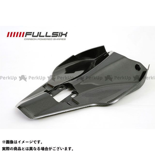 FULLSIX 1098 1198 848 カウル・エアロ 848 シートカウルアンダーパネル(レース用) コーティング:クリアコート カーボン繊維の種類:200Plain 平織り フルシックス