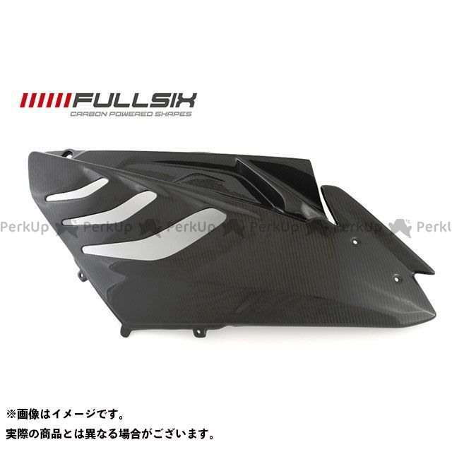 FULLSIX S1000RR カウル・エアロ S1000RR サイドカウル 右(レース用) クリアコート 245Twill 綾織り フルシックス