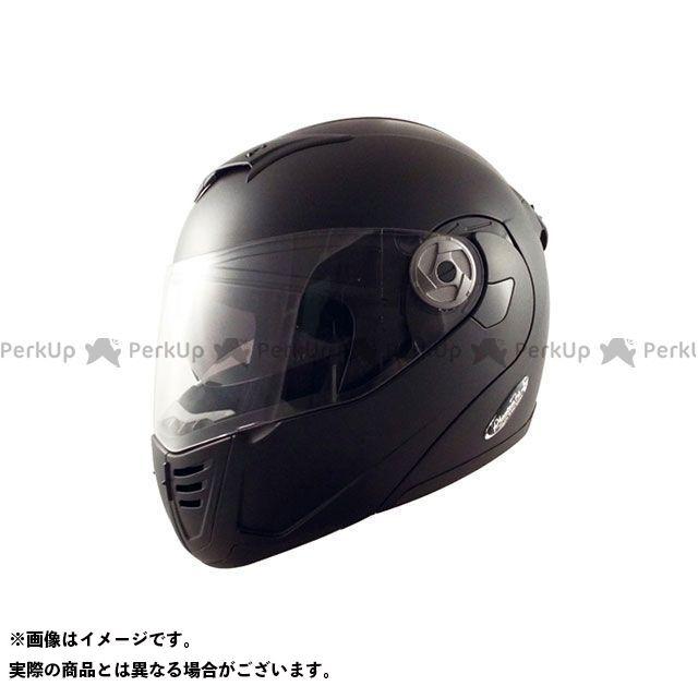 SPEEDPIT システムヘルメット(フリップアップ) PT-2 ダブルシールドシステムヘルメット Phantomtop ハーフマッドブラック XL/60-62cm未満 スピードピット