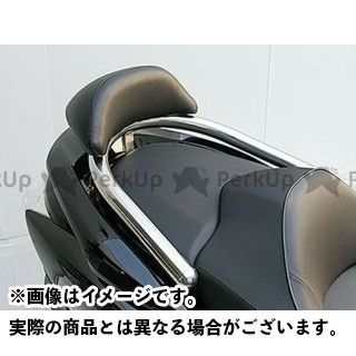 WirusWin フォルツァX フォルツァZ タンデム用品 フォルツァ(MF10)用バックレスト付き 38φタンデムバー タイプ:ブライアントタイプ バックレストサイズ:ラージ ウイルズウィン